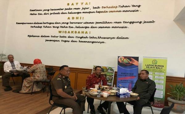Buka Puasa Bersama Kakanwil BRI Provinsi Bali di Kantor Kejaksaan Tinggi Bali