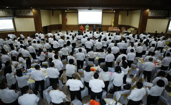 In House Training Agen Perubahan Bagi Para Pejabat dan Seluruh Jaksa di Lingkungan Kejaksaan Tinggi