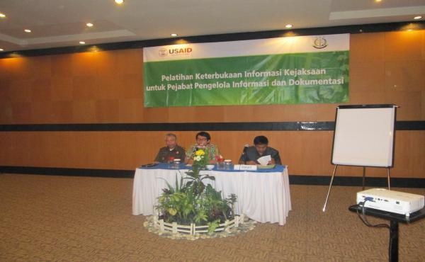 Pelatihan Keterbukaan Informasi Kejaksaan untuk Pejabat Pengelola Informasi dan Dokumentasi