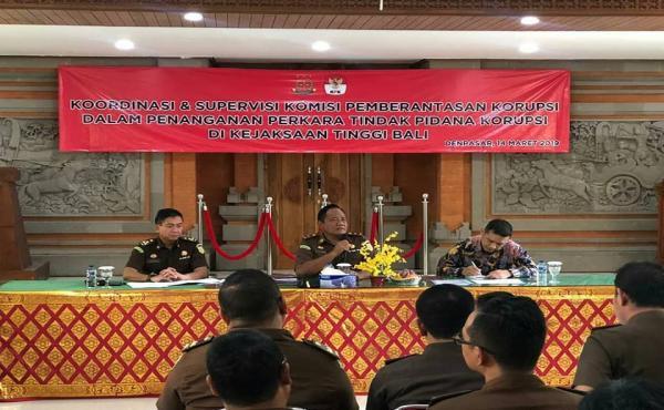 Koordinasi dan Supervisi KPK terhadap Penanganan Perkara Tindak Pidana Khusus di Wilayah Kejati Bali