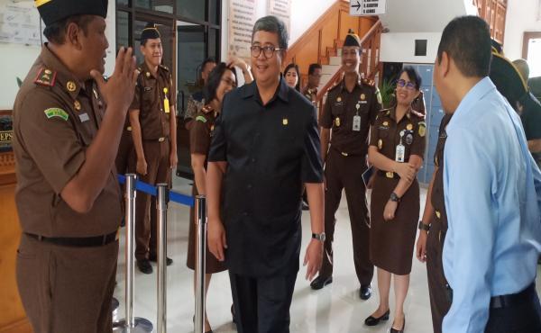 Kunjungan Wakil Jaksa Agung RI bersama Jaksa Agung Muda Tindak Pidana Khusus ke Kejati Bali