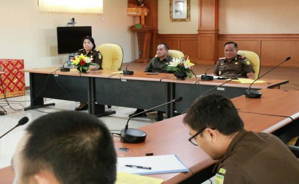 Rapat Pembangunan Zona Integritas WBK menuju WBBM Unit Kerja Kejati Bali