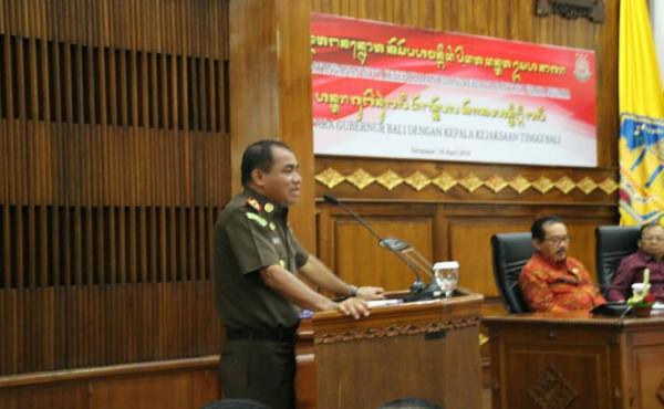Sosialisasi Peranan Kejaksaan Dalam Mendukung Pelaksanaan Pembangunan di Provinsi Bali