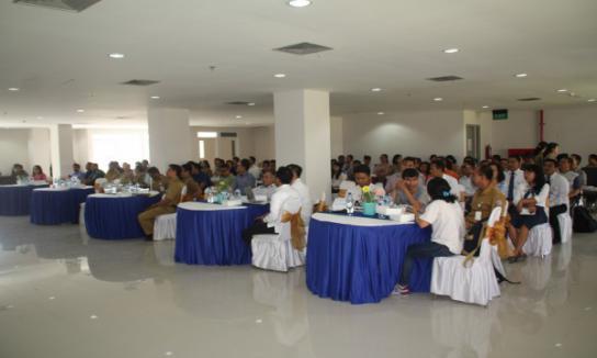 sosialisasi TP4D di RSUD Bali Mandara