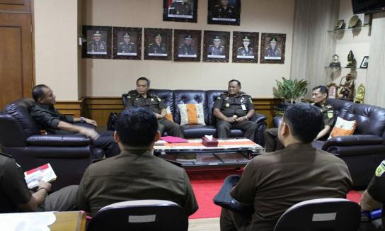Kunjungan Kerja Direktur Eksekusi dan Eksaminasi pada JAM Pidsus Kejaksaan Agung RI