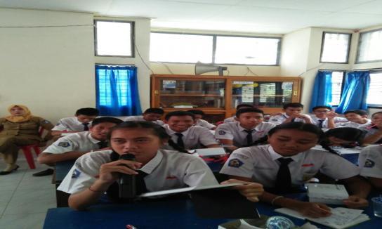 Kegiatan Jaksa Masuk Sekolah di SMPN 1 Kuta Selatan