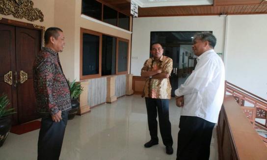 silahturahmi Kanwil Badan Pertanahan Nasional Provinsi Bali Rudi Rubijaya, S.P., M.Sc.