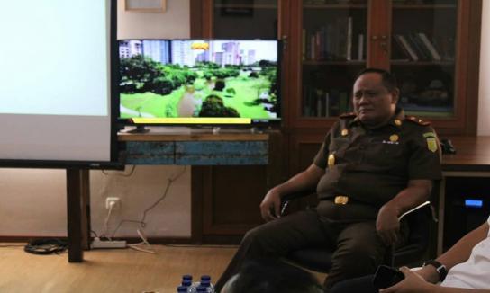 Kunjungan Wakajati NTB untuk Study Banding Pencanangan Zona Integritas WBK Dan WBBM di Kejati Bali