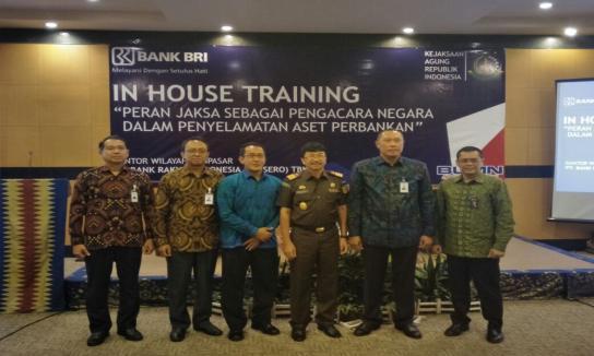 In house Traning antara Kejaksaan Tinggi Bali dengan BRI