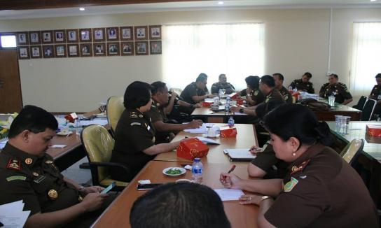 Rapat Perdana Panitia Kejaksaan Tinggi Bali Menuju Wilayah Birokrasi Bersih & Melayani (WBBM)