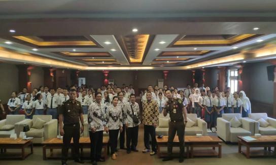 Kegiatan Penerangan Hukum/Penyuluhan Hukum Program Jaksa Masuk Sekolah Kejati Bali
