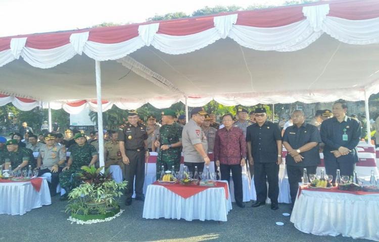 Apel Gelar Pasukan Operasi 'Ketupat Agung 2019' Dalam Rangka Pengamanan Hari Raya Idul Fitri 1440 H