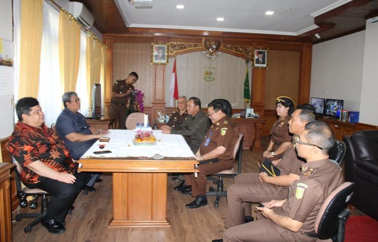 Kejaksaan Tinggi Bali menerima Kunjungan Wakil Jaksa Agung RI & Deputi Bidang Reformasi Birokrasi, Akuntibilitas Aparatur dan Pengawasan Kemenpan RB