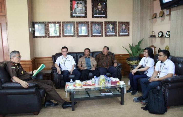 Kunjungan Divisi Hukum Kantor Pusat Perum Damri