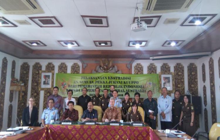 Pelaksanaan Ektradisi An. Samuel Pekka Juhani Kuuppo di Kejaksaan Tinggi Bali