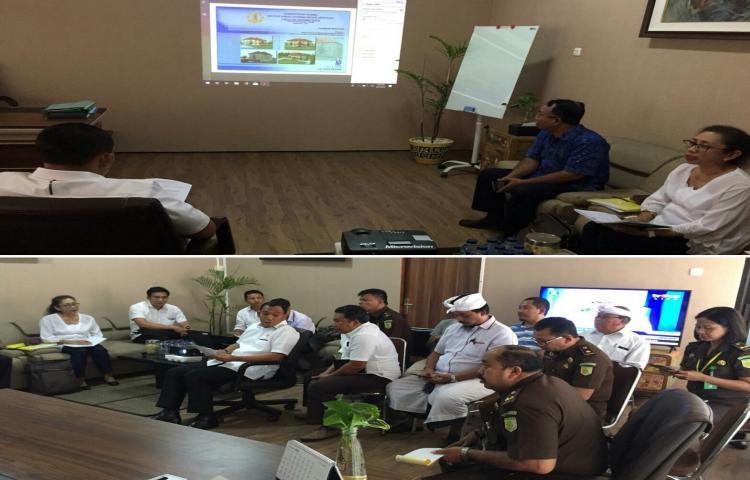 Paparan dari IHDN Terkait Rencana Pembangunan IHDN Bangli