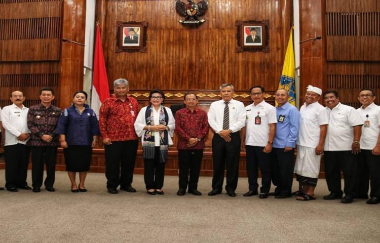Penandatanganan Nota Kesepahaman Antara Pemerintah Provinsi Bali dan Pemerintah Kabupaten/Kota se-Bali Dengan Kejaksaan, Direktorat Jenderal Pajak, Badan Pertanahan Nasional dan Bank BPD Bali