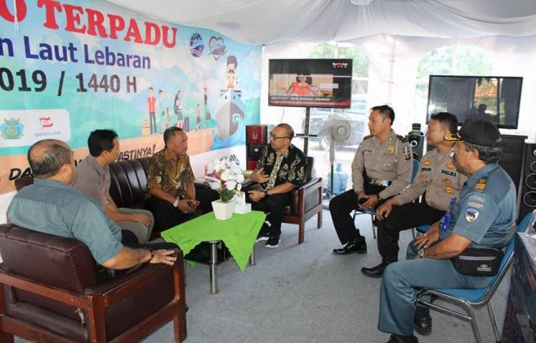 Posko Kejaksaan Tinggi Bali Pengawasan Lalulintas Barang dan Orang dan Tugas-tugas Intelijen Lainya