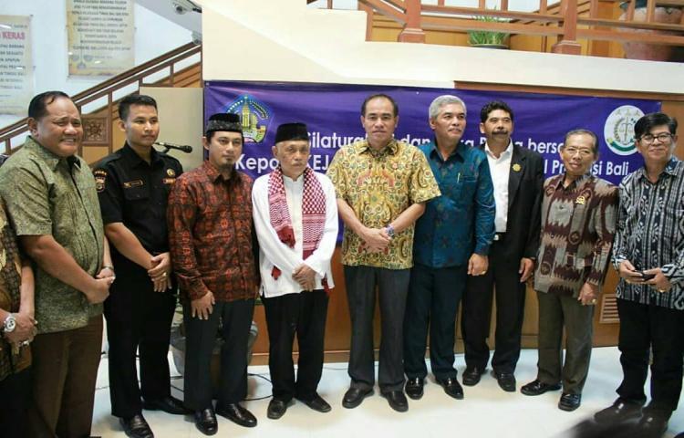 Silaturahmi dan Buka Puasa dengan Kesbangpol Provinsi Bali, Tokoh Agama, Tokoh Masyarakat, LSM dan Media Massa di Kejati Bali