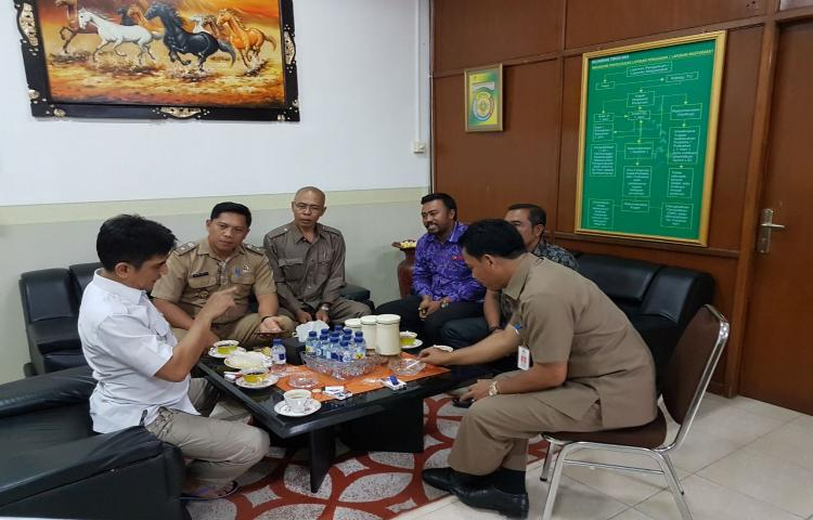 Tim TP4D Kejati Bali Menerima Konsultasi dan Diskusi Pengelolaan Dana Desa