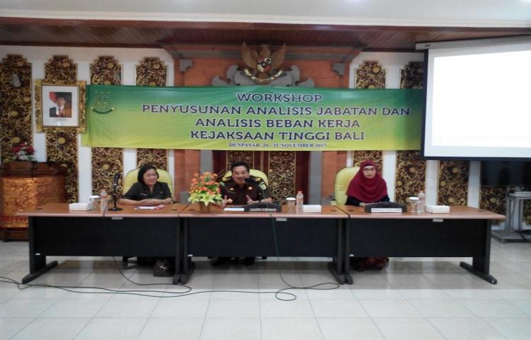 Workshop Penyusunan Analisis Beban Jabatan dan Beban Kerja