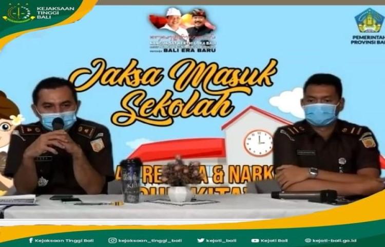 Pelaksanaan Jaksa Masuk Sekolah Kejaksaan Tinggi Bali, Rabu, 20 Januari 2021