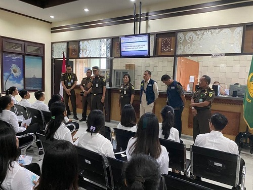 Pelaksanaan Kegiatan Seleksi Kompetensi Dasar (SKD) CPNS Kejaksaan RI Formasi Tahun 2019 Wilayah Kejati Bali.