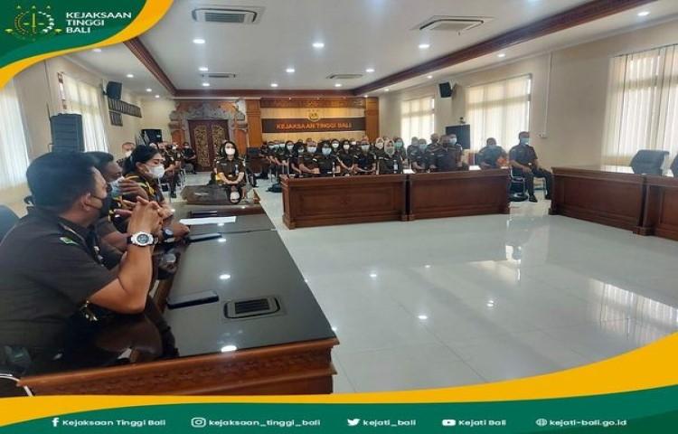 Pembekalan Peserta Pembelajaran dan Pelatihan Teknis Administrasi Kejaksaan Gelombang III