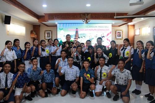 Peringatan Hakordia (Hari Korupsi Sedunia)di Kejaksaan Tinggi Bali 9 Desember 2019