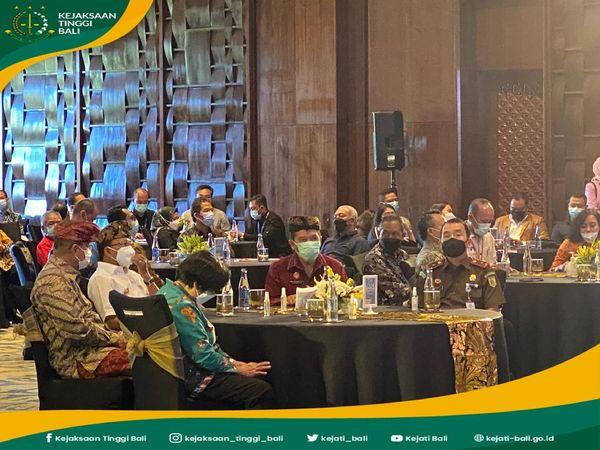 Plt. Kepala Kejaksaan Tinggi Bali, Hutama Wisnu, SH., MH menghadiri Pembukaan kegiatan